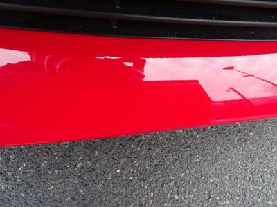 Bumper F Dent(s) and scratch(es)