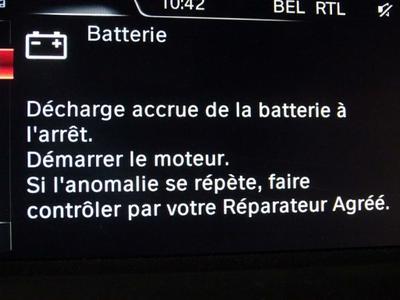 Batterie AV Ne fonctionne pas (bien)
