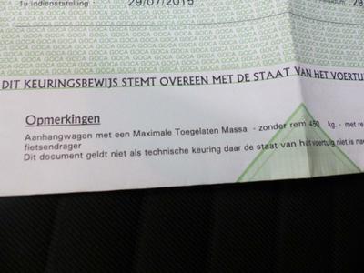 MOT Certificate Not original part