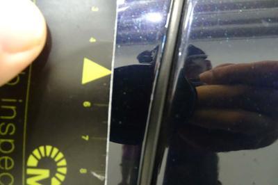 Porte AVG Mauvaise réparation