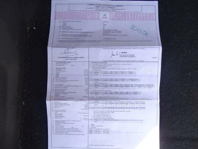 Certificat de Conformite Pas d'origine