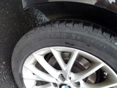Tyre R R Not original part