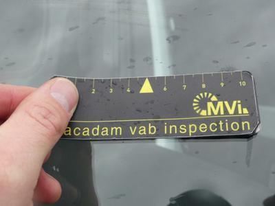 Windscreen Bad repair