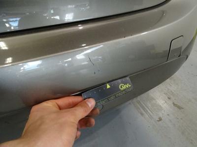Bumper R Dent(s) and scratch(es)