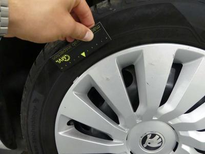 Wheel cover FR Scratch(es)