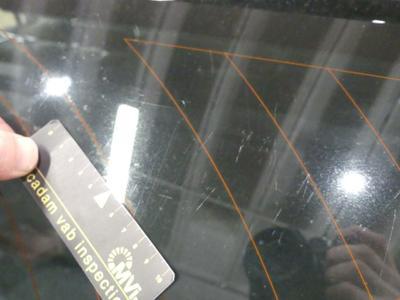 Rear window Scratch(es)